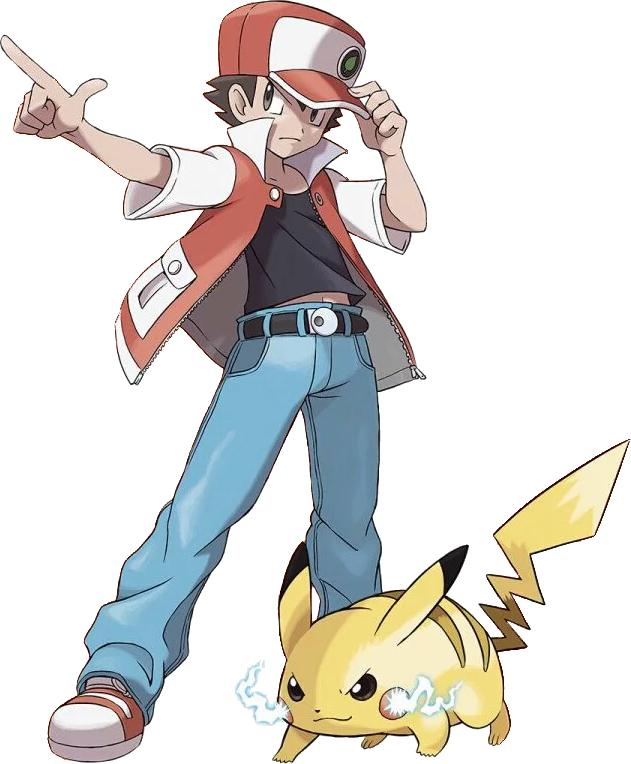 Pin By Dr Zuko On Pokemon Rojo Red Pokemon Trainer Red Pokemon Pokemon Red