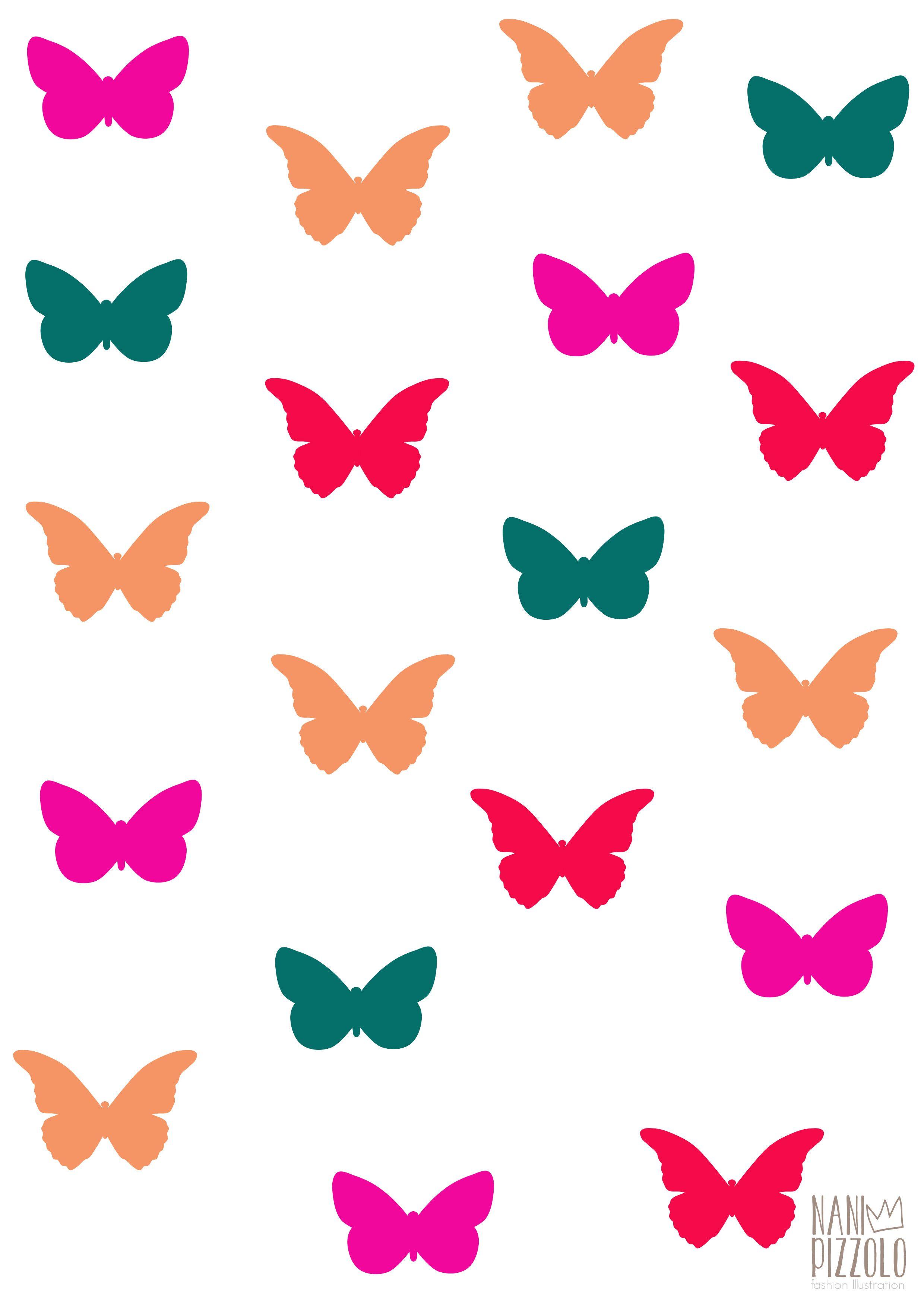 #desenhodemoda #drawing #illustration #fashiondesign #fashionillustration #spring #print #printed #butterfly #borboleta #mariposa #estampado #estampa @Nani Pizzolo