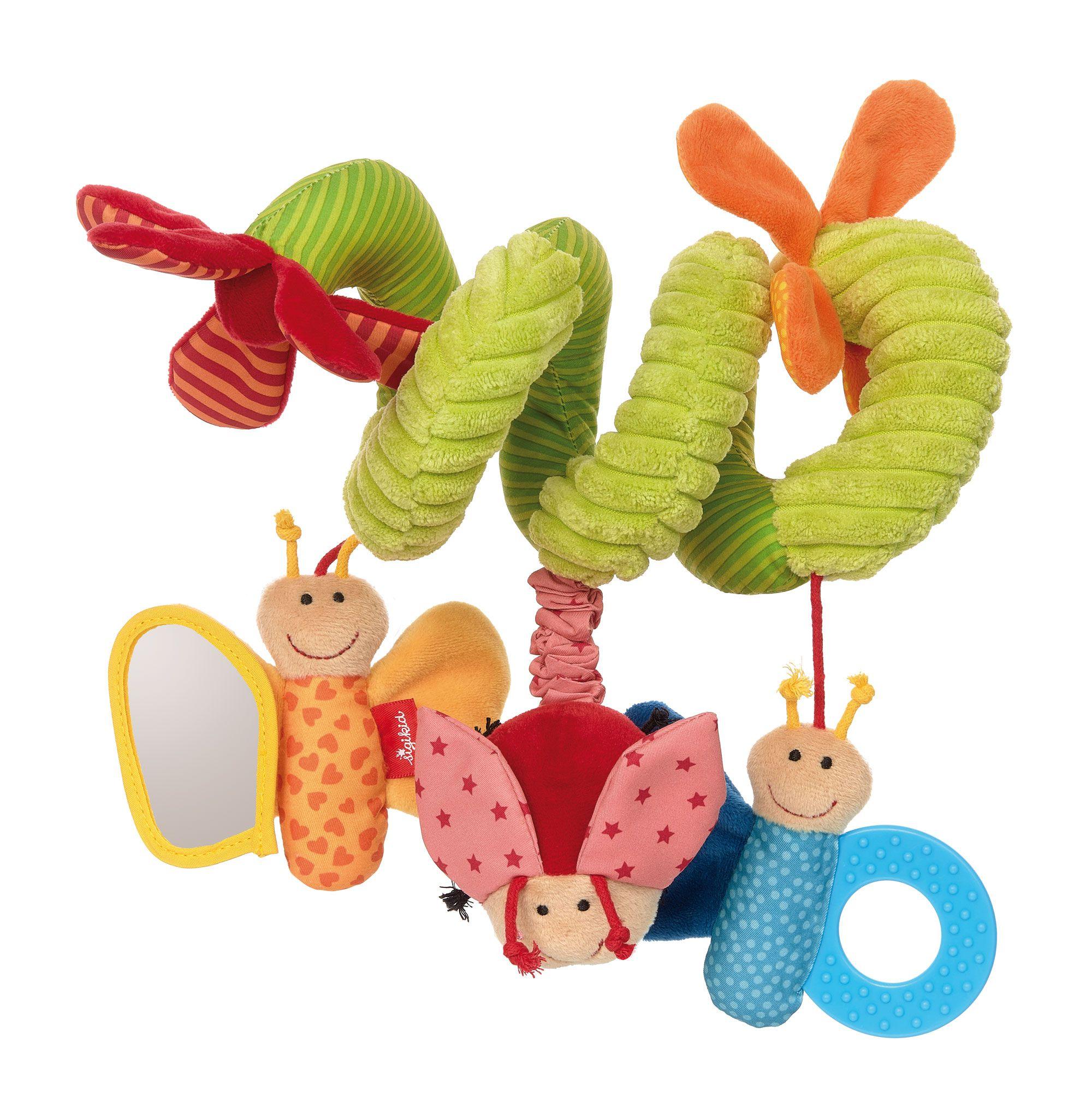 babyschalenspielzeug schmetterling  kinder wagen baby