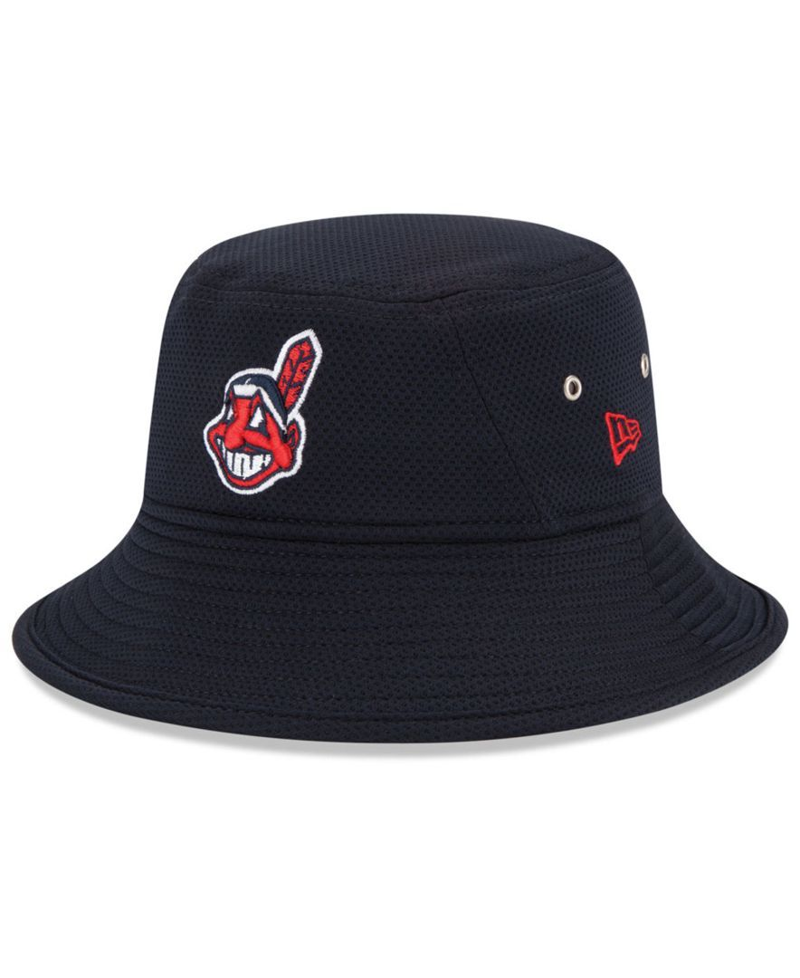 New Era Cleveland Indians Redux Bucket Hat  3229c294fc9