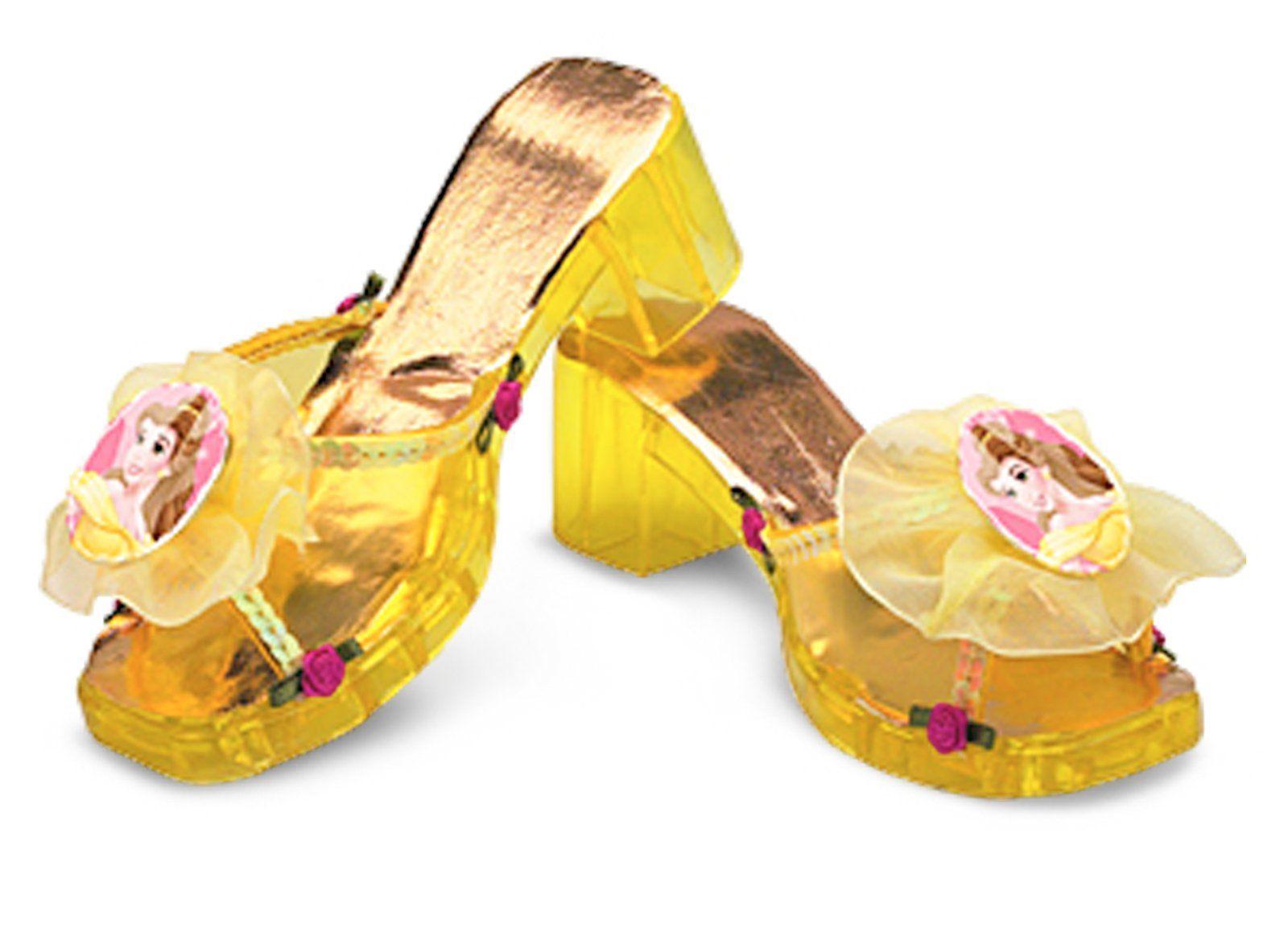 Belle costume shoes   Disney princess