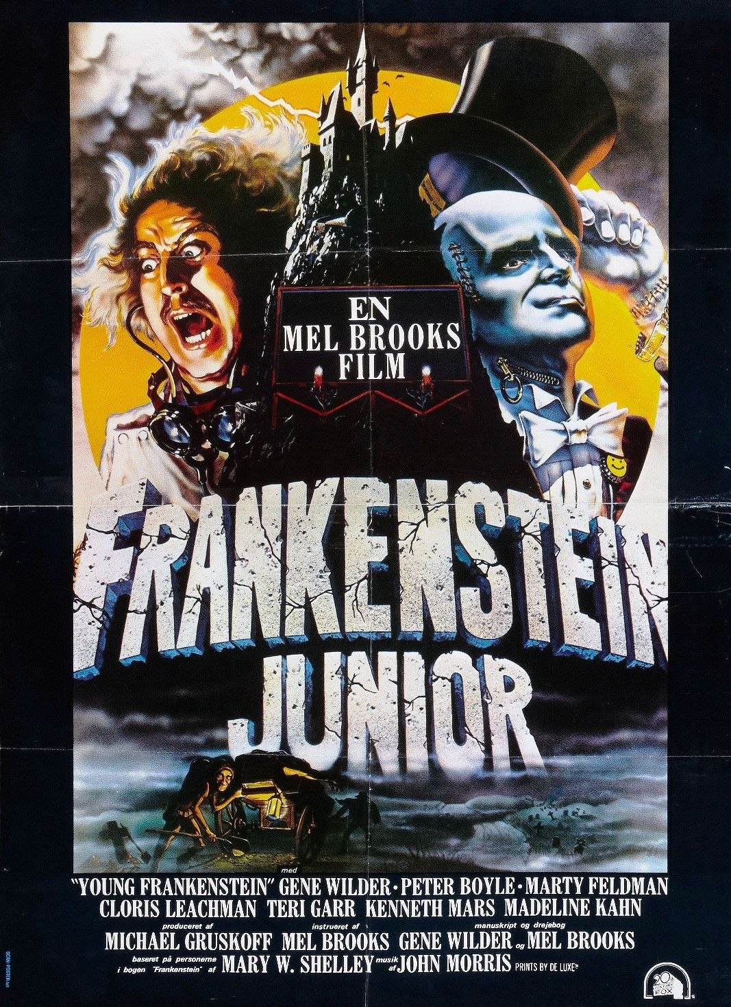 Young Frankenstein    1970/'s Movie Posters Classic Cinema