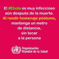OMS | Información sobre el virus del Ebola para el público