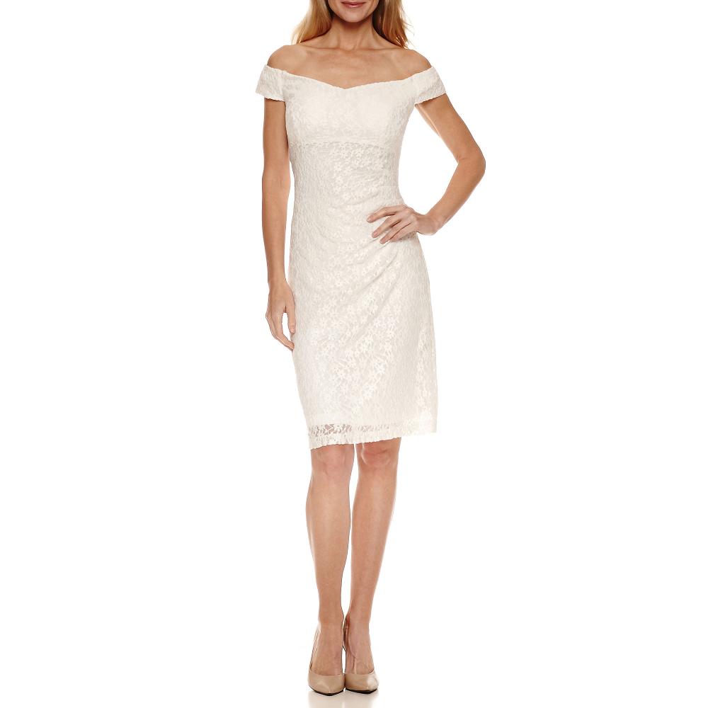 Scarlett Sleeveless Sheath Dress, Color: Ivory