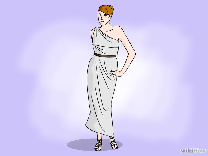 Een toga maken van een laken