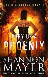 Review Fury Of A Phoenix By Shannon Mayer Fantasy Books Free Books Online Books