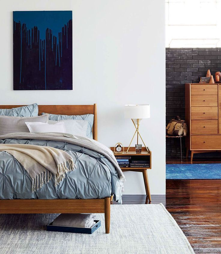 High Quality Modern Bedroom Furniture That Suits Almost Any Style. The West Elm  Mid Century Bedroom