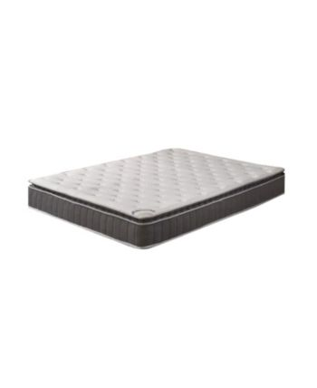 Foam Encased Pillow Top Mattress and Box Spring or Foundation, Queen #pillowtopmattress