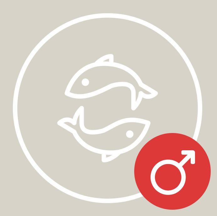 Fische Mann: Das Sternzeichen | desired.de | Fische mann