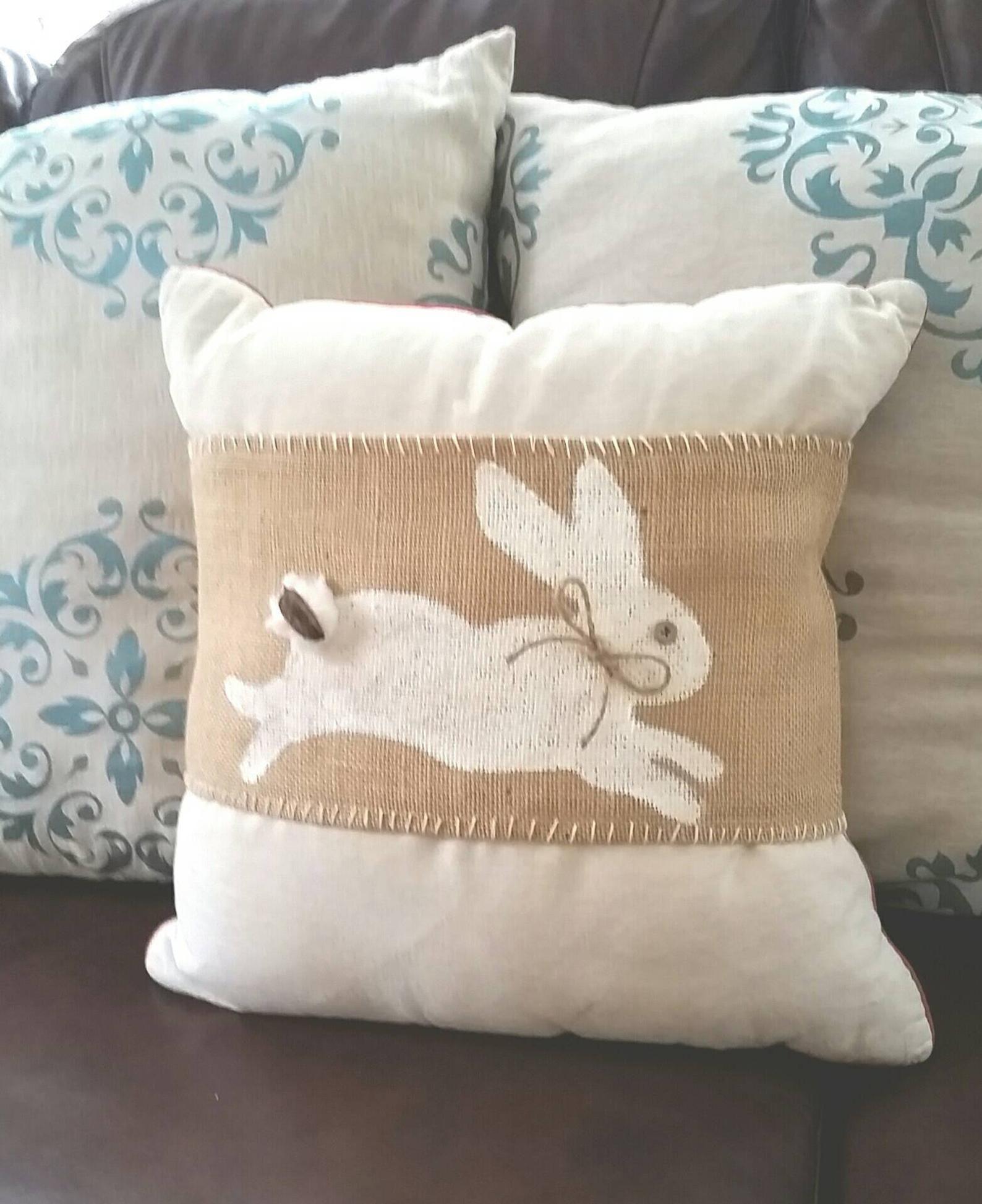 Easter Bunny Pillow Wrap