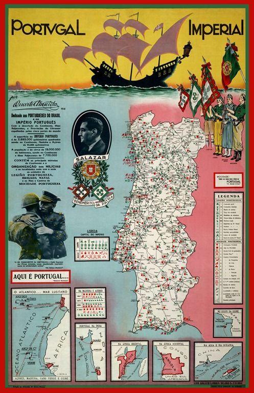 Propaganda Estado Novo Historia De Portugal Portugal Portugal Mapa