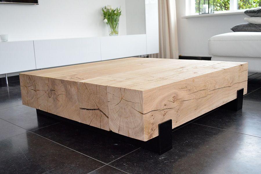 Salon Tafel Hout : Afbeeldingsresultaat voor salon tafel hout balk projecten om te