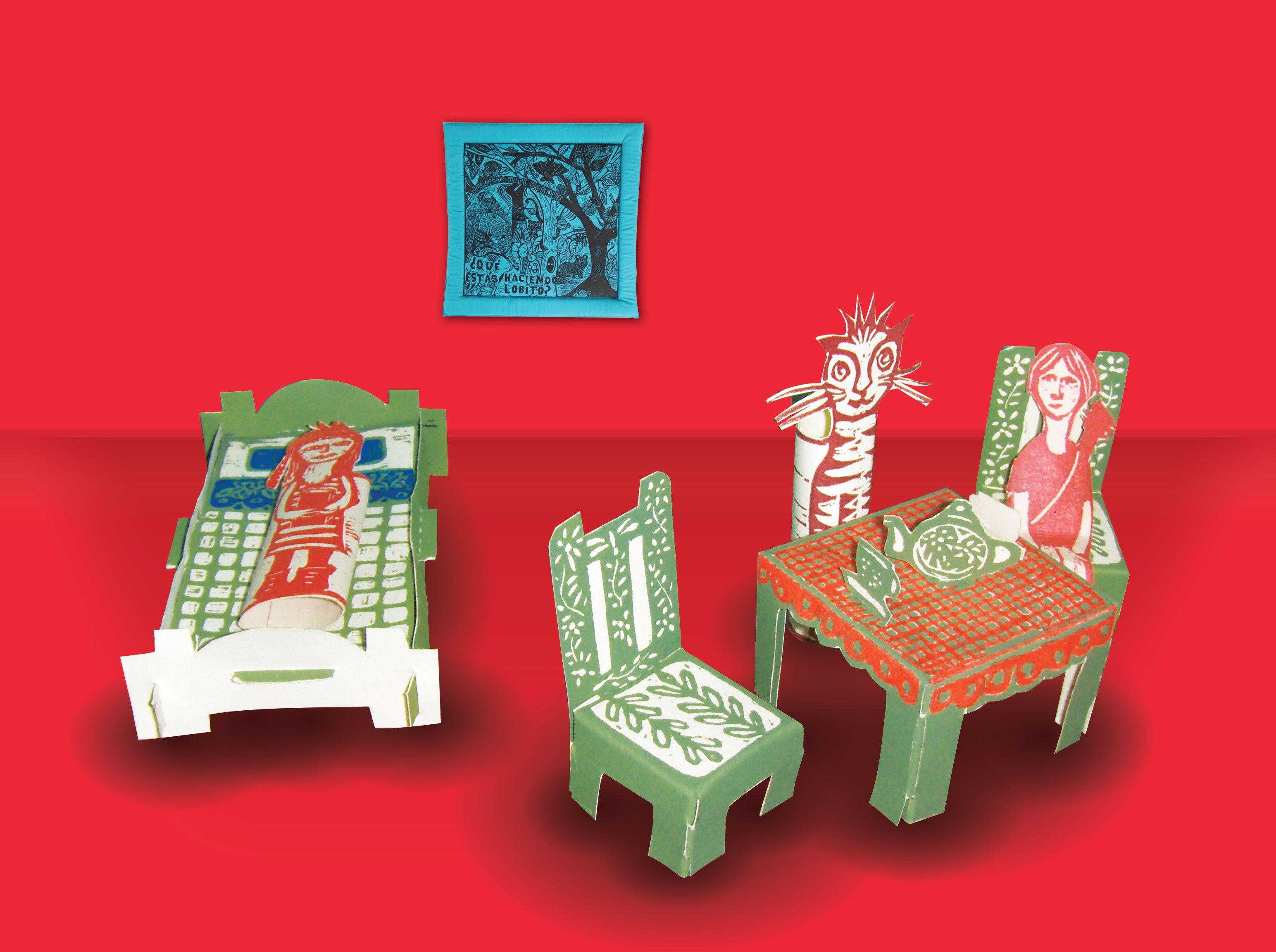 Dormitorio Para Armar En Xilograf A Casita De Mu Ecas Juguetes  # Gufanti Muebles