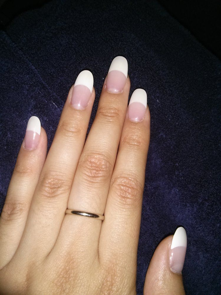 Nail Tymes Photos Rounded Acrylic Nails Best Acrylic Nails French Nails
