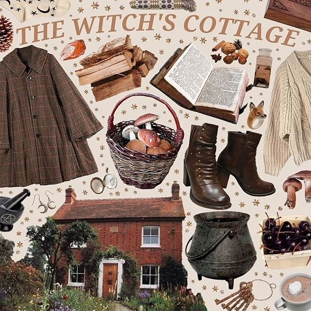 the witch's cottage #witchcottage