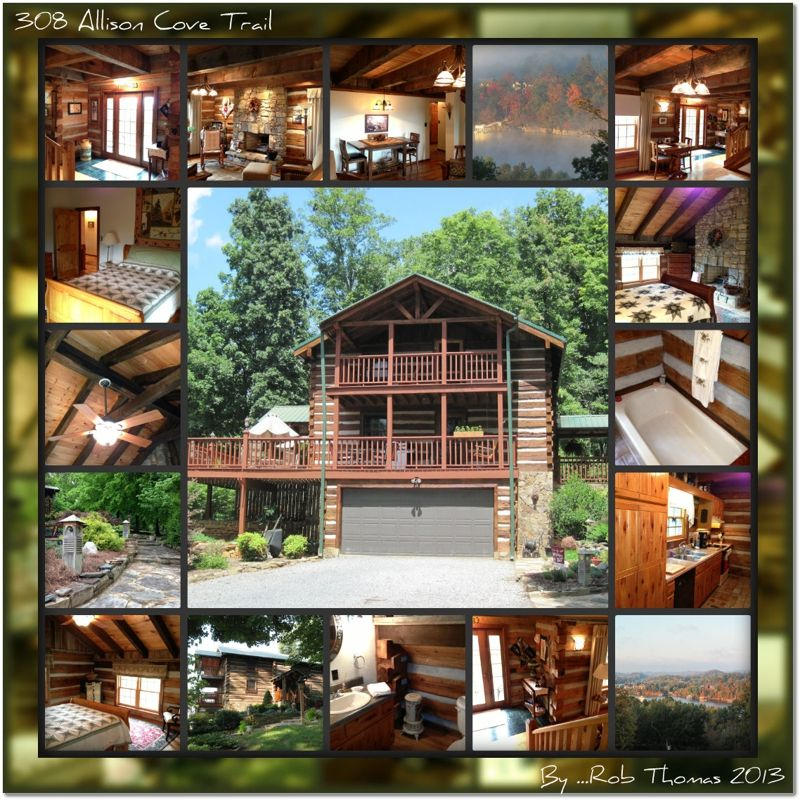 Log Homes For Sale Overlooking Boone Lake In Piney Flats Tn 37686