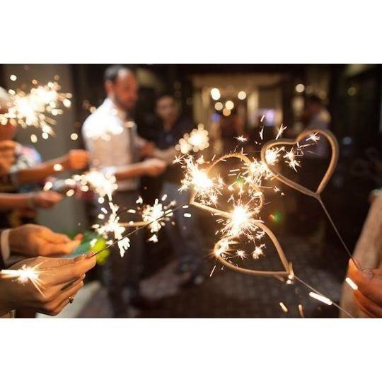 Heart Shaped Sparklers | Heart shaped sparklers, Sparklers ...