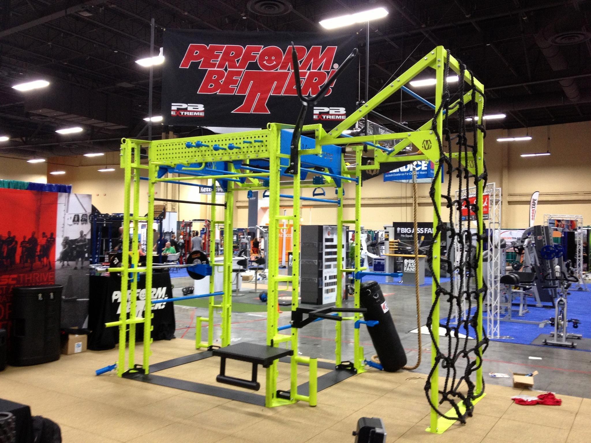 Ihrsa Show Las Vegas Health Wellness Design Outdoor Workouts Gym Design