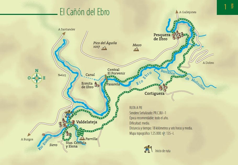 Valle De Sedano Mapa.Valle Del Sedano Burgos El Canon Del Ebro Ebro Pasion Por Viajar Viajes