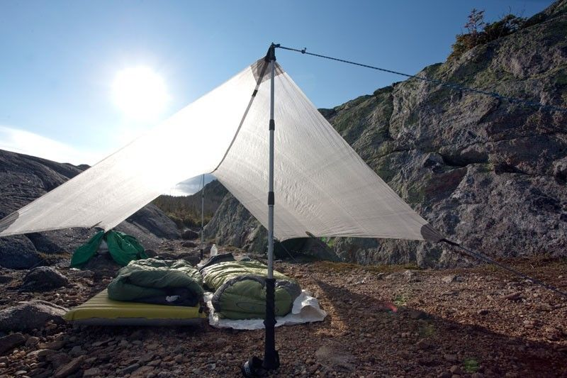 The benefits of trekking poles. Hyperlite Mountain Gear Echo II Tarp pitched with trekking : tents that use trekking poles - memphite.com