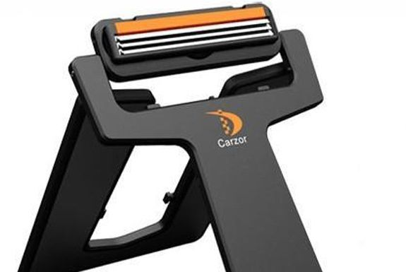 The Crazor - Credit Card Sized Razor.  Great for Travel. $12
