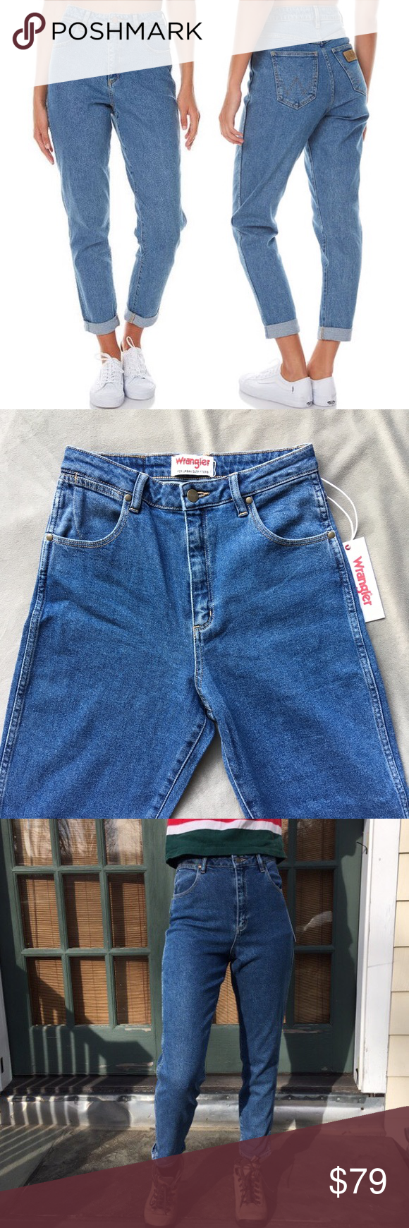 6e789f6e New Wrangler x UO Tyler High Waisted Mom Jeans The perfect high waisted mom  jeans by