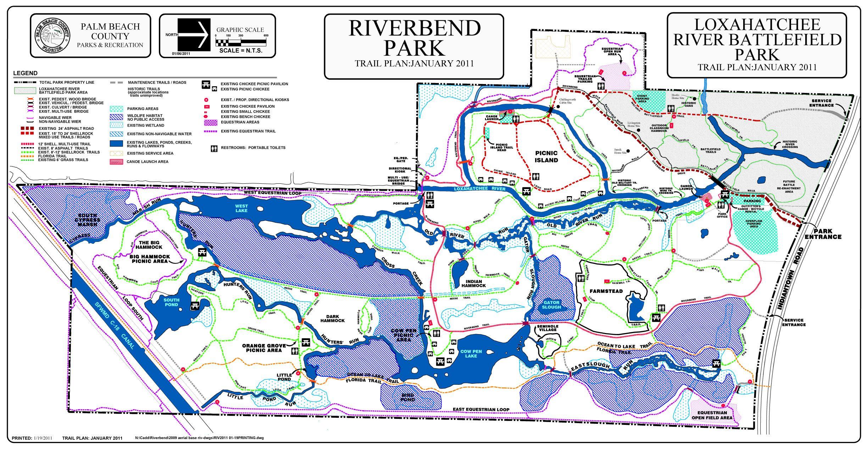 Jupiter Florida Map.Paddle Trails Riverbend Park Jupiter Fla Sup Paddle Surf