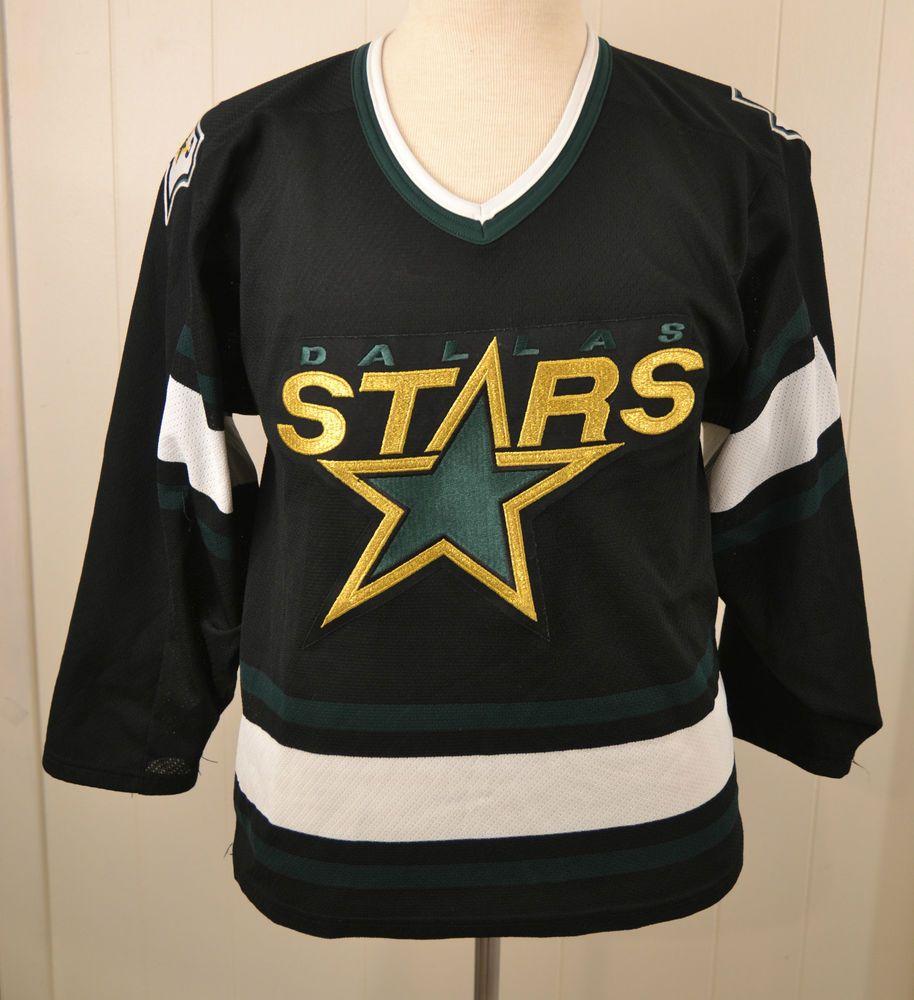 ae01f1dde CCM Dallas Stars Hockey Jersey Sweater NHL Small Black Stitched Sewn #CCM # DallasStars