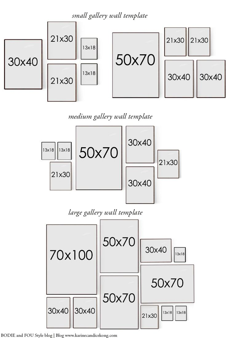How To Hang A Gallery Wall The Perfect Way Pinteres  ~ Quadros Para Imprimir Quarto E Piso Em Parede De Quarto