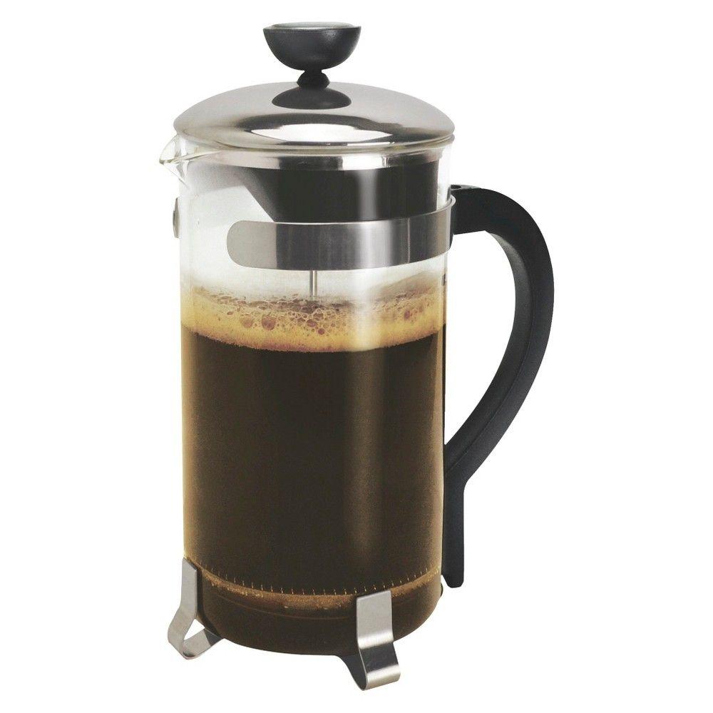 Primula 8 Cup Coffee Press Chrome (Grey) in 2019