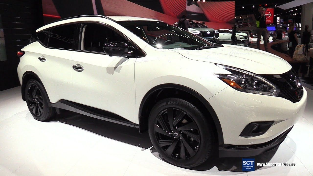 2018 Nissan Murano Midnight Edition - Exterior and ...