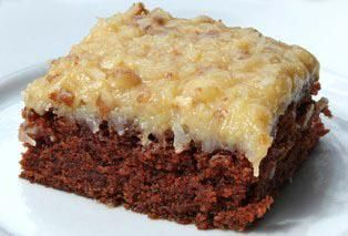 Hawaiian Style German Chocolate Cake Posted By: Christine Souza on Cooking Hawaiian Style http://cookinghawaiianstyle.com/index.php/component/recipe/recipes/detail/2301/hawaiian-style-german-chocolate-cake