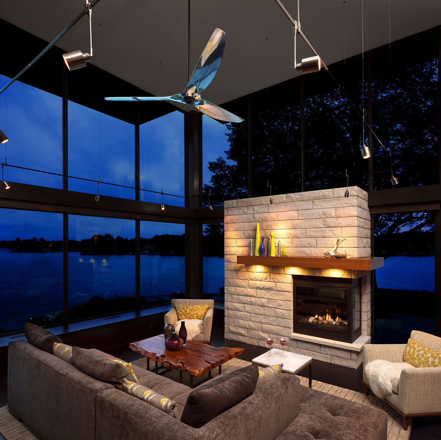 Haiku Home Big Ass At Pinterest Design And Interior Ceiling Fan By Fans Polished Aluminum 84