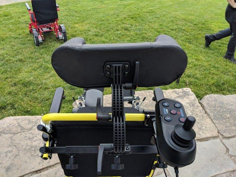 REFURBISHED USED Air Hawk Power Folding Wheelchairs
