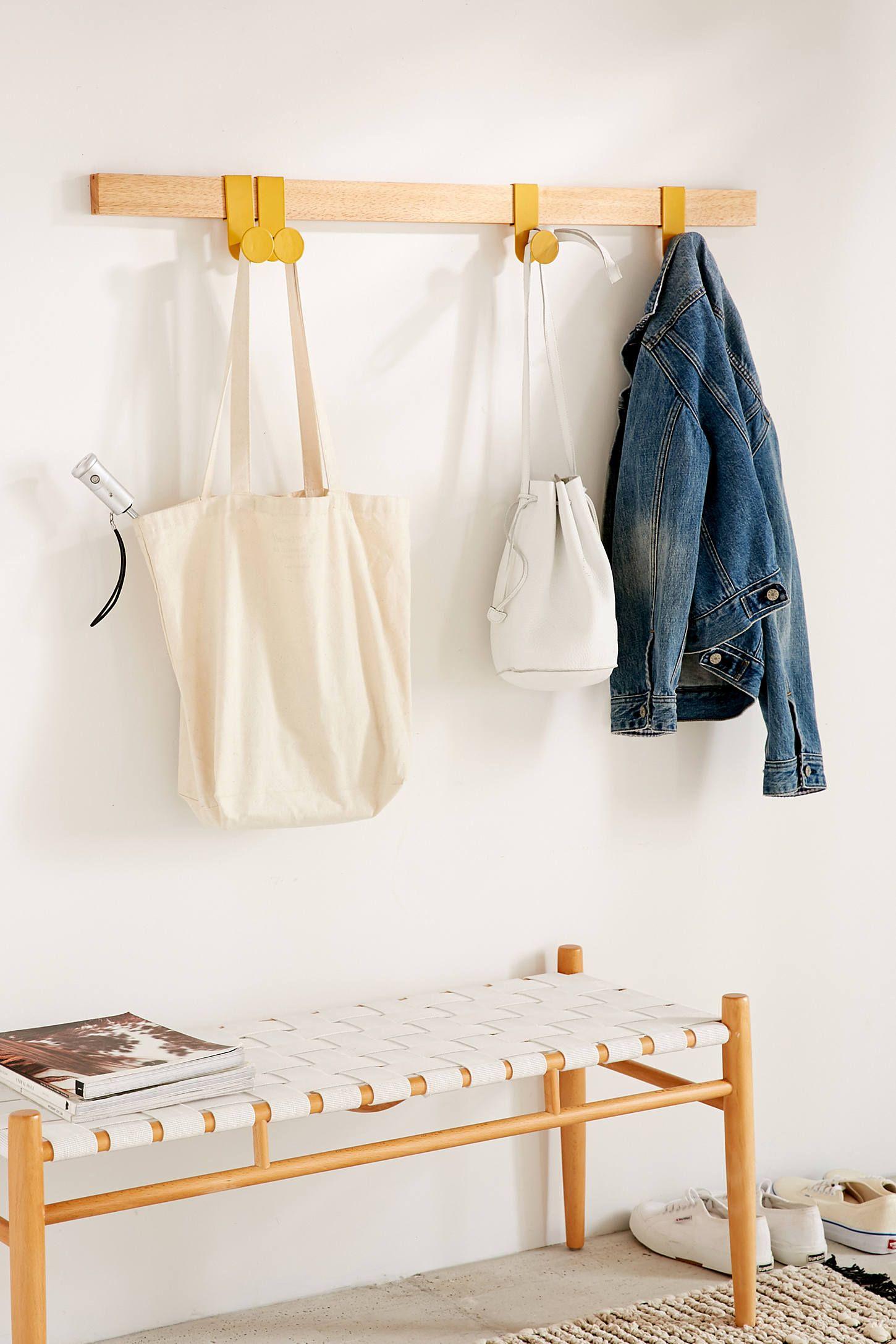 Sliding Multi Wall Hook Modern Coat Hooks Coat Rack Wall Modern Coat Rack
