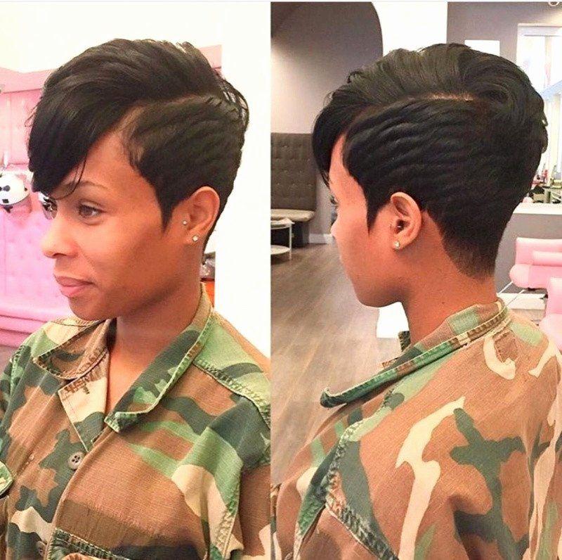 Short Black Hairstyles 2015 Inspirational Extreme Short Haircuts Arcadefriv In 2020 Hair Styles Short Haircut Styles Short Hair Styles
