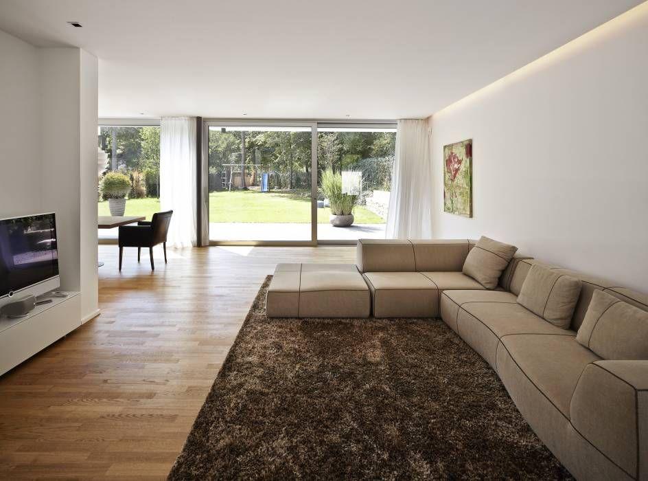 Wohnhaus C Mainz Oberstadt: moderne Wohnzimmer von Marcus Hofbauer Architekt