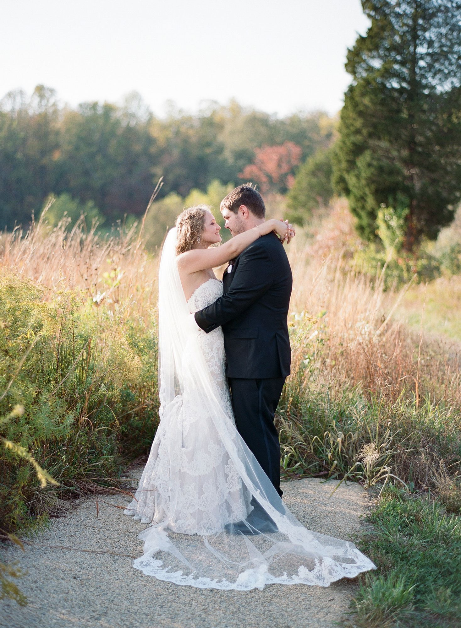 Youull want to frolic through this floral filled fall wedding