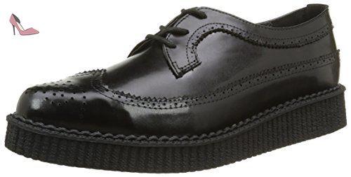 T.U.K. A8644, Chaussures de ville mixte adulte - Noir (Black), 37 EU