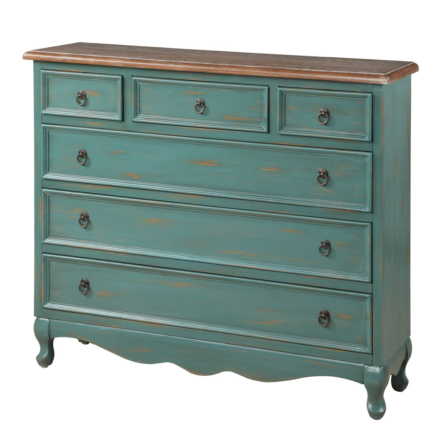Gail S Accents Cottage 6 Drawer Narrow Chest Shabby Chic Furniture Furniture Small Bathroom Vanities