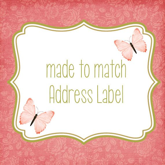 Made+to+Match+Address+Labels+by+LoveLifeInvites+on+Etsy,+$6.50