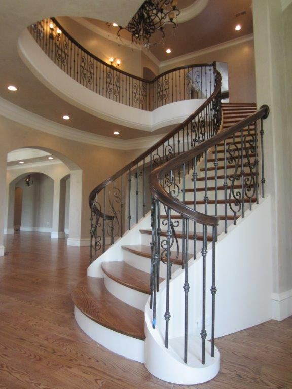 Best Pin By Artistic Southern Staircase On Metal Baluster 640 x 480