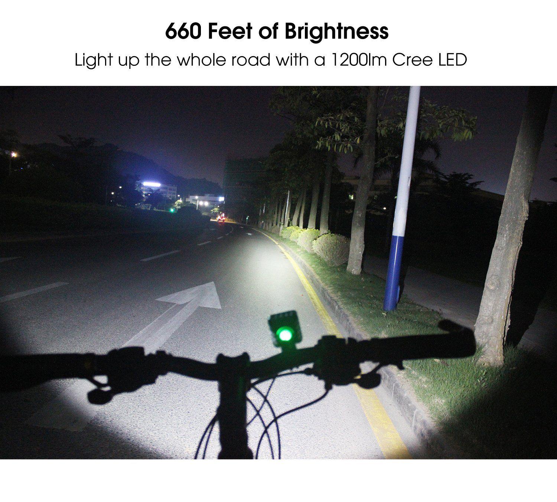 Night Eyes One Week Only1200 Lumens Mountain Bike headlight Bike LED Light