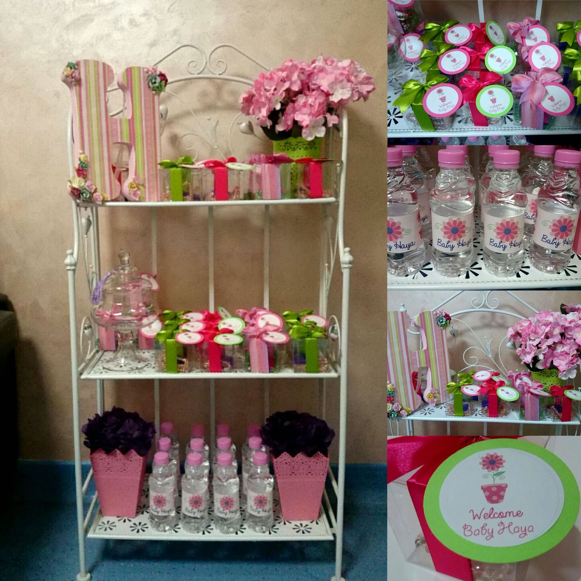 Baby favors  Baby stand