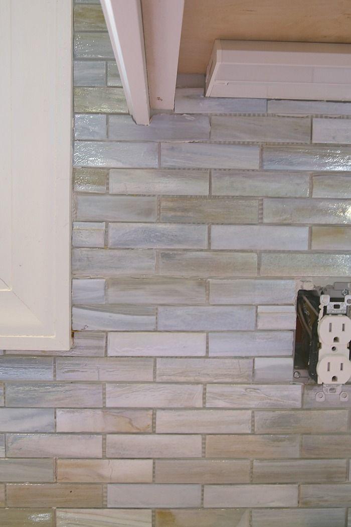 Lunada Bay tile kitchen backsplash Installing a