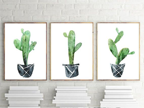 Printable Cactus Cactus Wall Art Digital Art Printable Art Succulent Download Cactus Print Cactus Poster Cactus Art Print Cactus Wall Art Cactus Poster