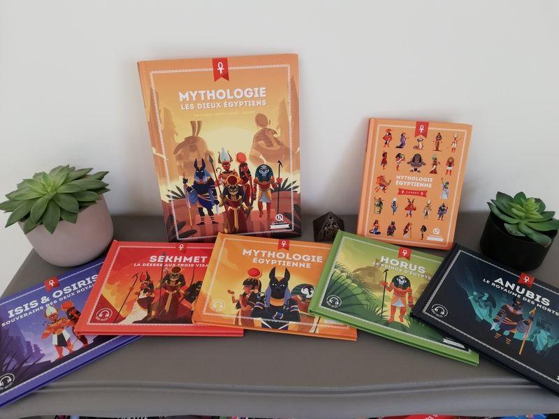 Passion Mythologie La Collection Complete Des Editions Quelle Histoire Sandoline Mythologie Dieux Egyptiens Mythologie Egyptienne