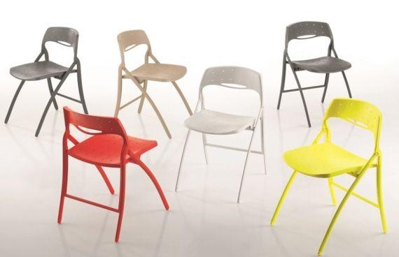Chaises Pour Collectivite Pliantes Arkua Sledge Chaise Pliante Design
