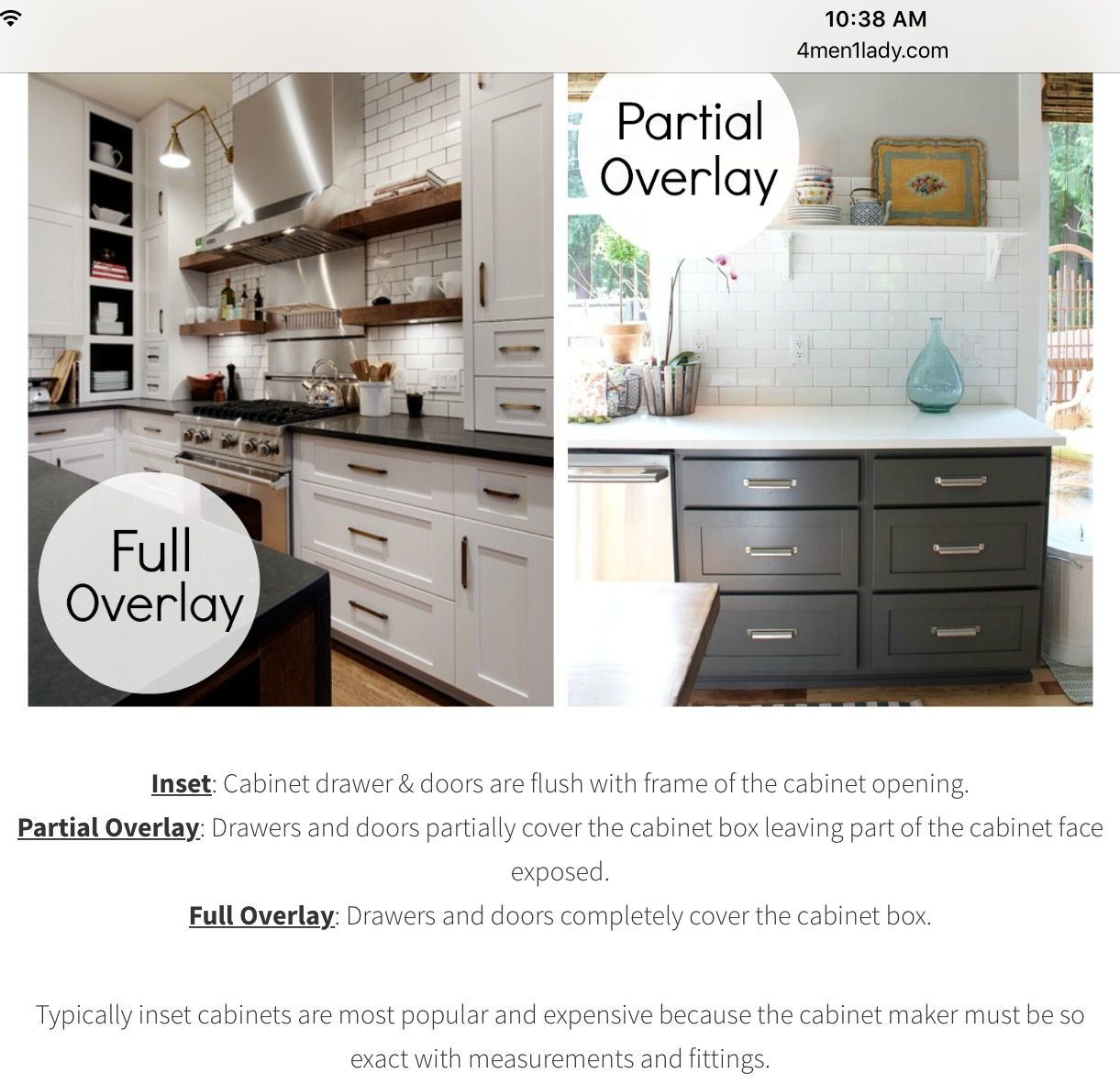 reviewing my own house kitchen cabinets 4 men 1 lady rh pinterest cl