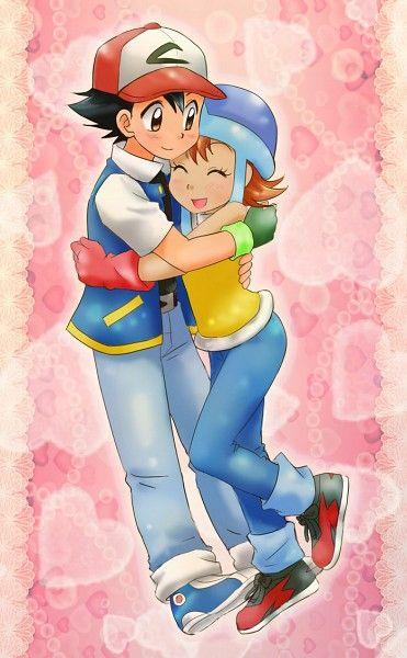 Ash & Sora - Pokemon Digimon crossover fan art